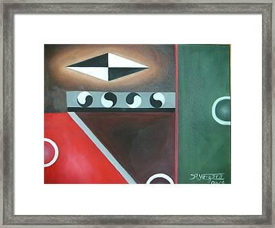 Balance I Framed Print by Raul  Vergara
