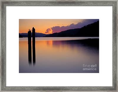 Balance  Framed Print by Idaho Scenic Images Linda Lantzy