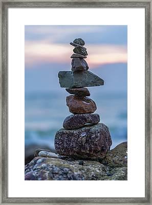 Balance. Framed Print