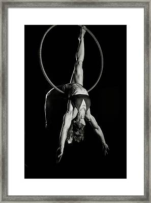 Balance Of Power 14 Framed Print by Monte Arnold