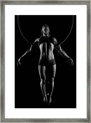 Balance Of Power - Symmetry Framed Print