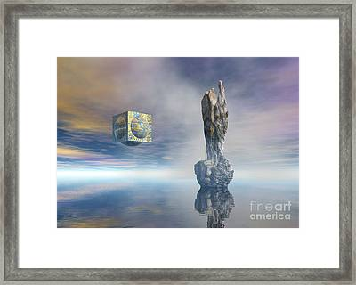 Balance Of Silent Machinery Framed Print by Sipo Liimatainen