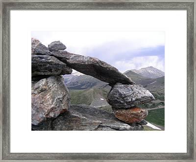 Balance Framed Print by Peter  McIntosh