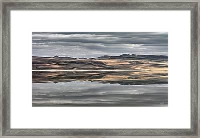 Balanced Reflection Framed Print