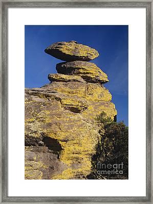 Balanced Rocks, Chiricahua Nm Framed Print