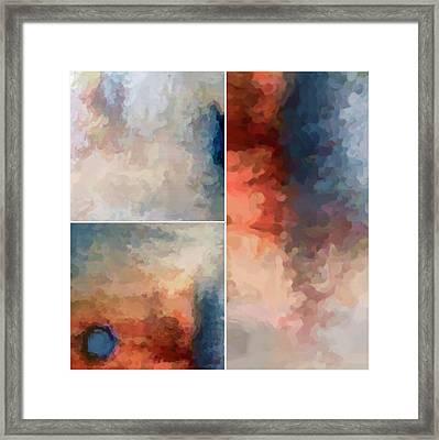 Balance...three Framed Print