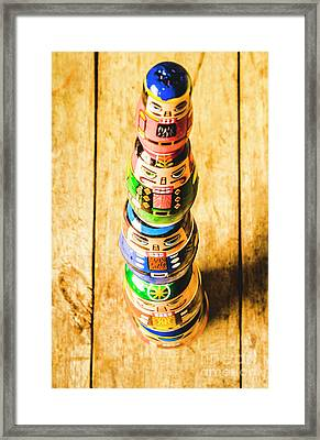 Balancing The Command Structure Framed Print by Jorgo Photography - Wall Art Gallery