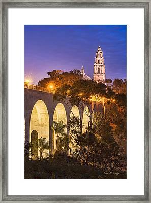 Balboa Bridge Framed Print