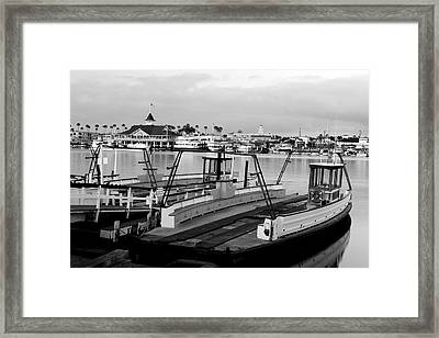 Balboa Ferry Framed Print by Eric Foltz