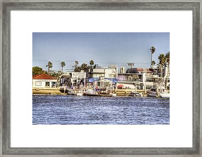 Balboa Island Framed Print by Ariane Moshayedi