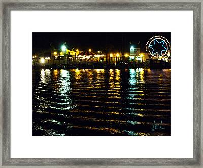 Balboa Night Framed Print by S Lynn Lehman