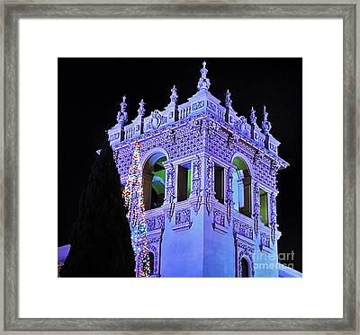 Balboa Park December Nights Celebration Details Framed Print