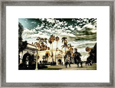 Balboa Park Framed Print by Frank Garciarubio