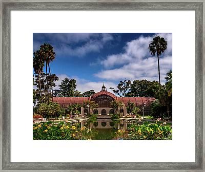 Balboa Park Framed Print by Martina Thompson
