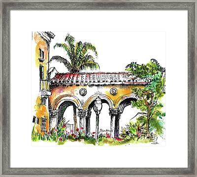 Balboa Park San Diego 3 Framed Print