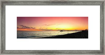 Balboa Pastels Framed Print