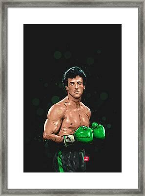 Balboa Punch Team Framed Print