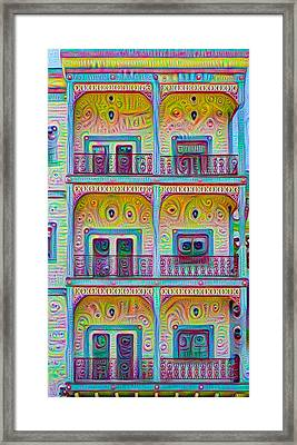 Balcony Dreams Framed Print