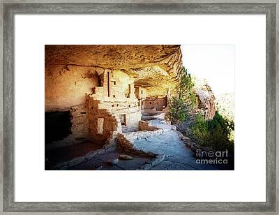 Framed Print featuring the photograph Balcony House by Scott Kemper