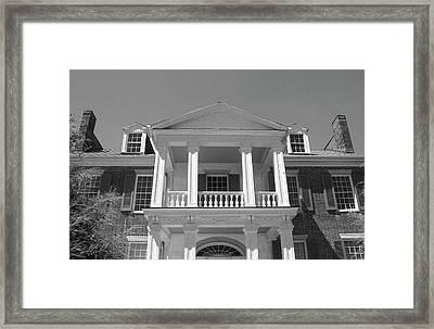 Balcony Of Carnation Framed Print