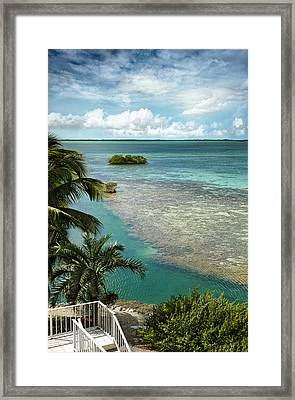 Balcony View Framed Print