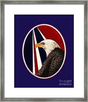 Bald Eagle T-shirt Framed Print