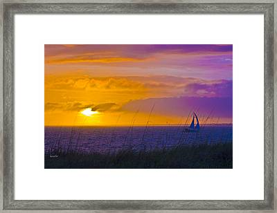 Bald Head Island Study 10 Framed Print