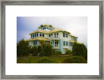 Seaside Getaway  Framed Print by Betsy Knapp