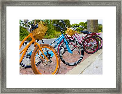 Bald Head Island Study 4 Framed Print by Betsy Knapp