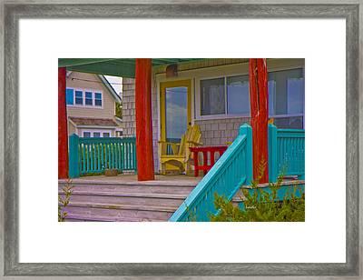 Bald Head Island Study 7 Framed Print