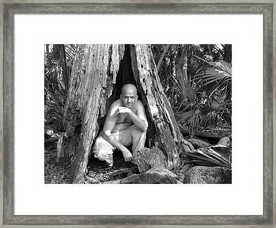 Bald Hobbit Framed Print by Jack Norton