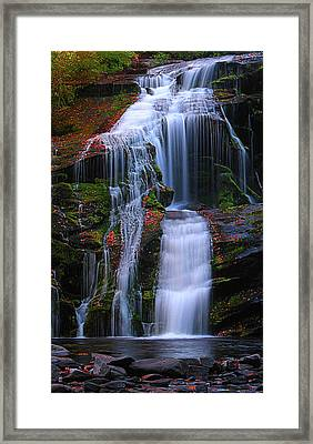 Bald River Falls Framed Print