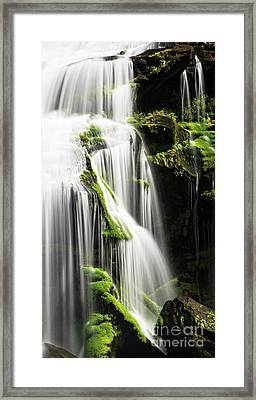 Bald River Falls Framed Print