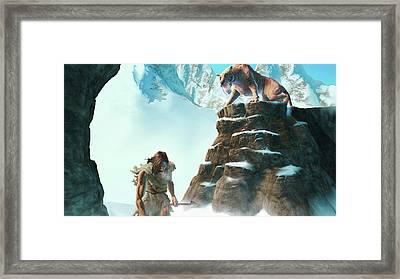 Baldur's Gate Dark Alliance Framed Print