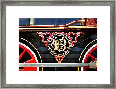 Baldwin Locomotive Works Framed Print by Mary Jo Allen