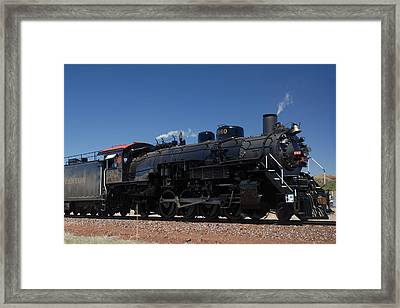 Baldwin Mikado 2-8-2 No 4960 Steam Locomotive Williams Arizona Framed Print