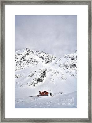 Balea Cabin Framed Print by Gabriela Insuratelu