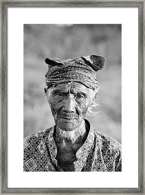 Bali Fisherman Framed Print by Mike Reid