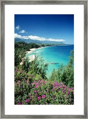 Bali Hai Beach Framed Print by Dana Edmunds - Printscapes