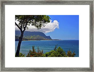 Bali Hai Hawaii Framed Print
