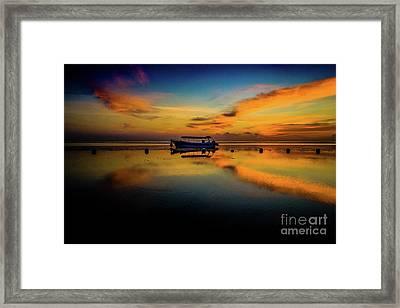 Bali Sunrise 3 Framed Print