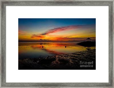 Bali Sunrise II Framed Print