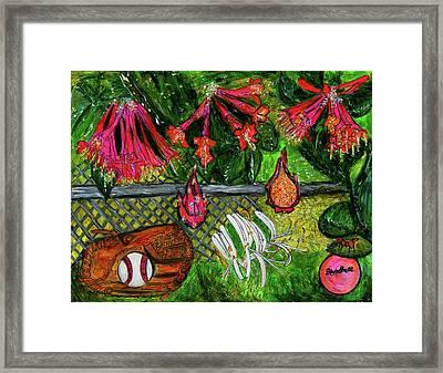 Ball Garden  Framed Print by Lindsay Strubbe