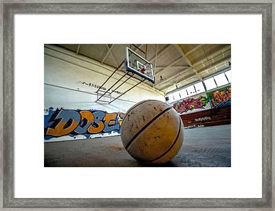 Ball Is Life Framed Print