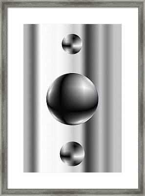 Ball Framed Print by James Eugene Albert