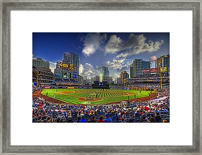 Ball Park Framed Print by Corey Gautereaux