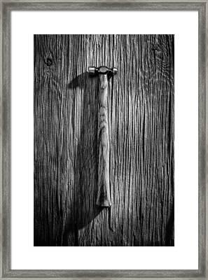 Ball Peen Hammer Framed Print