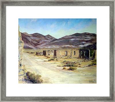 Ballarat California Framed Print by Evelyne Boynton Grierson