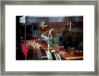 Ballard Market #2 Framed Print