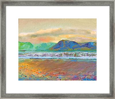Ballenskelligs Bay Framed Print